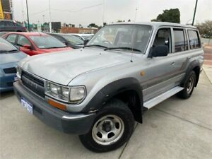 1994 Toyota Landcruiser GXL (4x4) Silver 4 Speed Automatic 4x4 Wagon