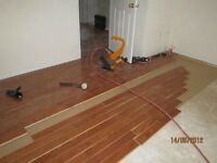 INSTALLING HARDWOOD AND LAMINATE