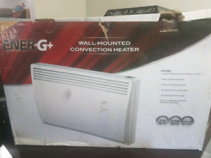 Wall mounted Convection Heater
