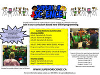 Superior Science Summer Camp