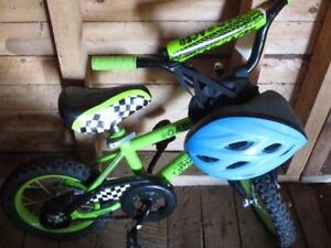 "Kids 12"" Bike with helmet--EXCELLENT Condition!"