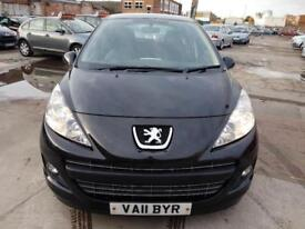 2011 Peugeot 207 1.4HDi 70 diesel FAP Active full service history