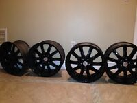 20 inch boss rims with 5/114.3 bolt pattern