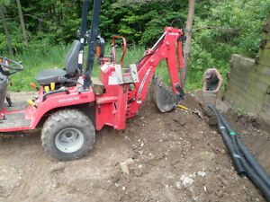Landscaping and Excavation Services Available