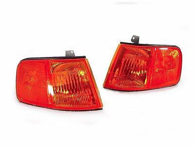 Jdm Corner Lights - DEPO JDM Amber Front Corner Lights For 1990-1991 Honda CRX / CR-X - US Spec NEW