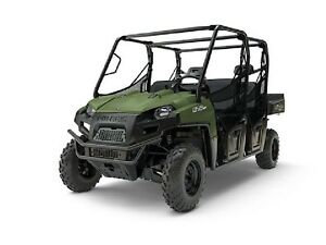 2017 Polaris RANGER CREW 570-6 Sage Green