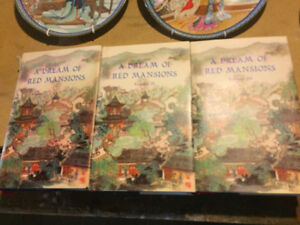A Dream of the Red Mansion books and plates