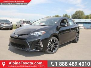 2017 Toyota Corolla SE  TRD Exhaust - TRD Air Filter - TRD Rear