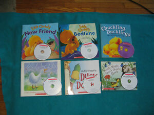 Duckling Theme Primary Reading books with CDs