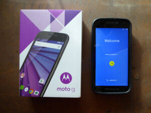 Moto G (Gen 3) UNLOCKED Cell Phone in Excellent Condition !!