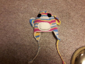 Homemade Crochet Hats and Scarves