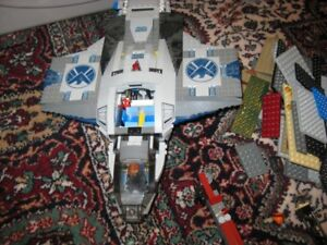 Lots of Lego Sets combined, used.  Selling as one bulk  lot.