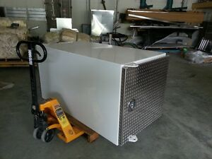Aluminum Cabinet, doors on both ends