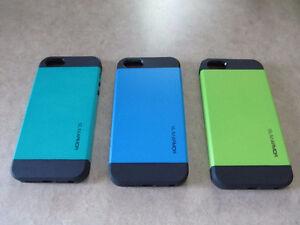 Étuis neufs iphone SE, 5 ou 5s – Ballistic, Spigen et autres