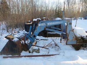 1980s frey quick attach loader