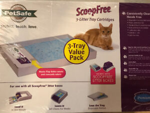 ScoopFree cartriges (pack of 3)-$25