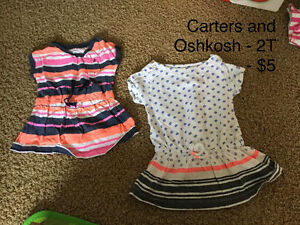 Assorted 2 T girls clothing