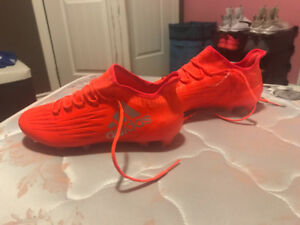 Running and soccer shoes