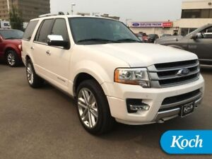 2017 Ford Expedition Platinum  Nav, Moonroof, Heated leather, 8-