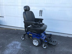 Power wheelchair for sale. Barely used, great condition.