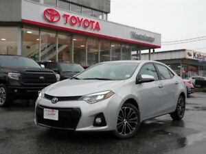 Toyota Corolla S Upgrade Package 2016