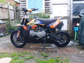 Pit bike stomp 120cc