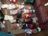 Huge lot of boys clothes and shoes size 3 months-2T