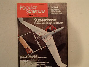 Vintage Popular Science Magazine July 1978 GC