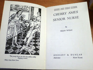 Cherry Ames - Vintage Nursing Novels