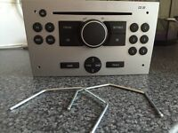 Vauxhall double din cd player