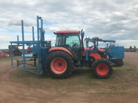 USED KUBOTA M7040 WITH BLUEBERRY HARVESTER Truro Nova Scotia Preview