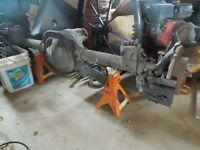 1995 Mustang 8.8 complete rear end including disc brakes
