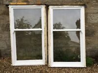 Traditional timber window sashes