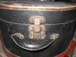 Large Hat box with locks.