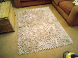 Colours Benita shaggy rug, silver - reduced!
