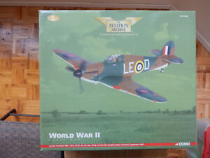 Two Limited Edition Corgi 1:32 Diecast WWII Aircraft