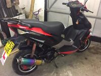 2013 Pulse Lightspeed 2 WY125 T74 125cc scooter moped