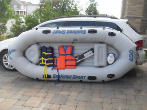 Complete set - Seahawk 400 sport - 10' Inflatable dingy raft