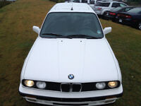 BMW E30 3 SERIES NEVER BEEN PAINTED TOTALLY ORIGINAL