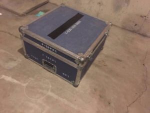 Rack with Road case