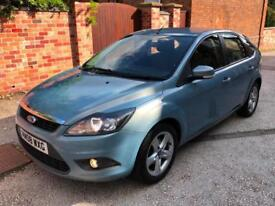2008 Ford Focus 1.6 (100ps) Zetec, 12M MOT & SERVICE JUST DONE, 2 KEYS, FSH!