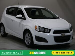 2012 Chevrolet Sonic LT A/C GR ELECT MAGS BLUETOOTH