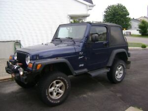 2002 Jeep TJ Coupé (2 portes) lifté