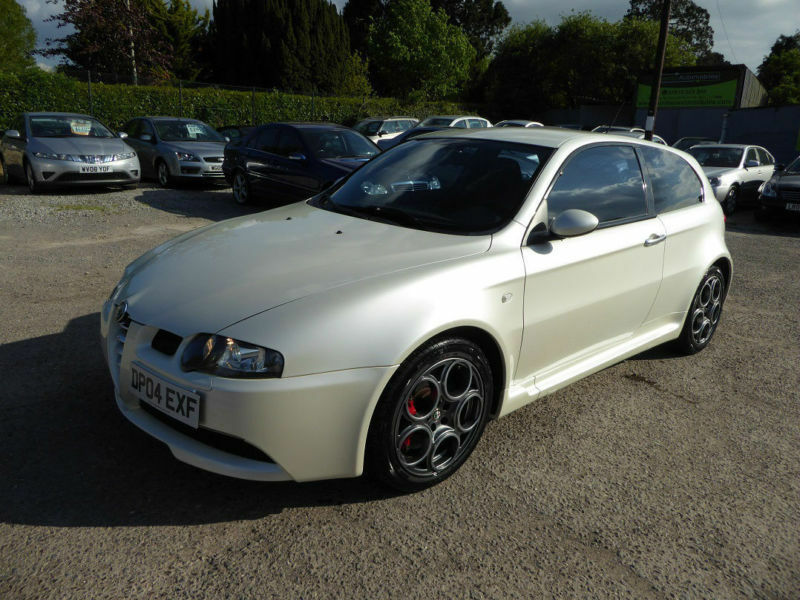 alfa romeo 147 white - photo #8