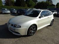 2004 ALFA ROMEO 147 GTA 3.2 V6 PETROL MANUAL IN RARE WHITE PEARL LHD LOW MILES