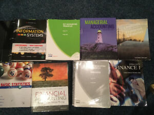 Selling 18 business textbooks