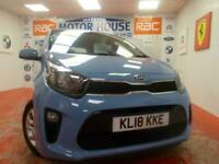 2018 Kia Picanto 2 (ONLY 20668 MILES) (7 YEAR KIA WARRANTY) FREE MOTS AS YOU OWN