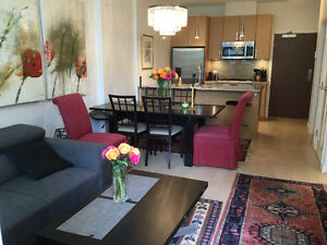 2 bedroom, 2.5 bath with den FURNISHED olympic village