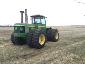 Parting out jd8430 4wd, Morris 6130 airseeder tank and monitors