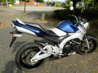 Suzuki GSR600k6 2006 16k Naked Streetfigter motorcycle MOT & HPI clear p/ex ok
